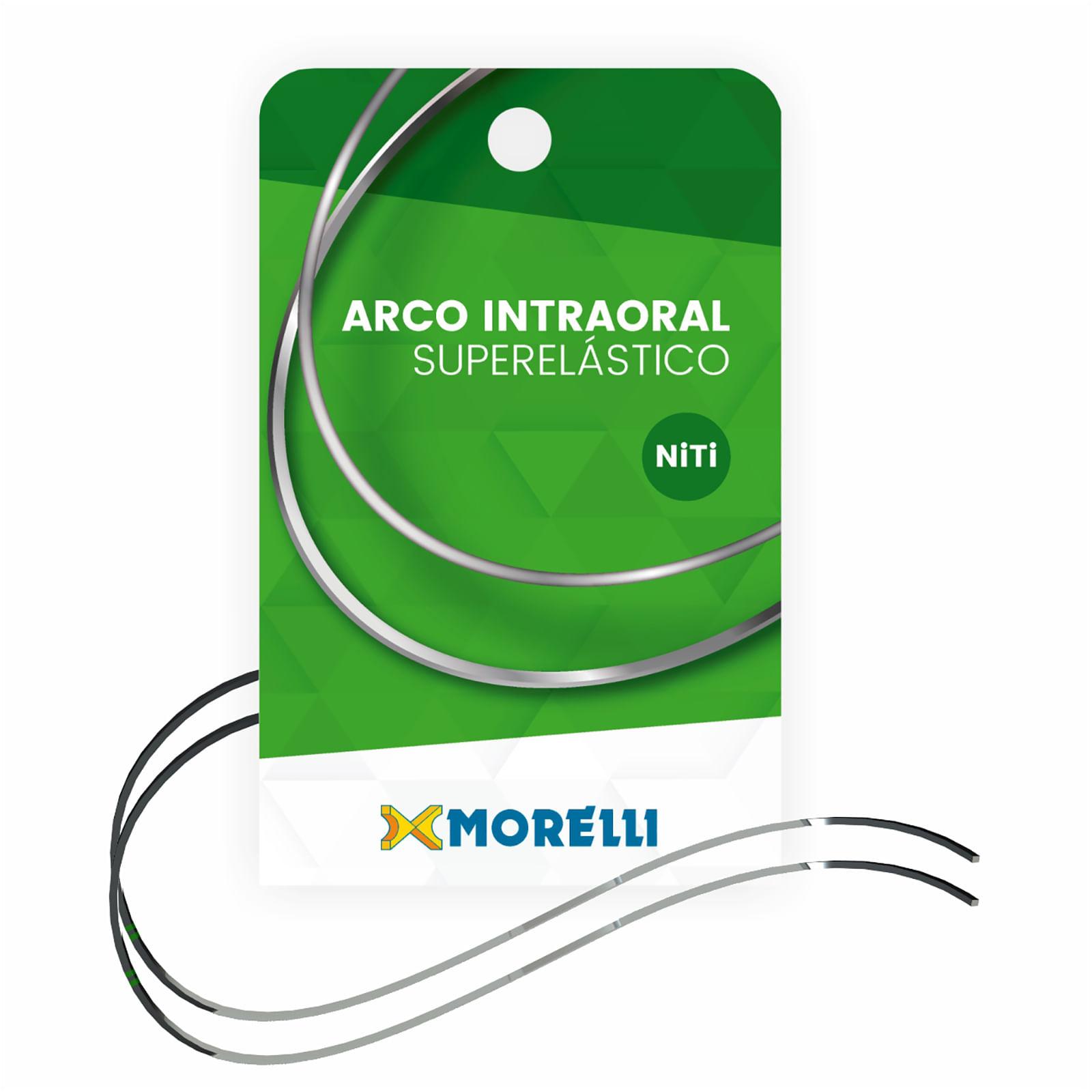 ARCO-NITINOL-SUPERELASTICO-CURVA-REVERSO-MEDIO---INFERIOR---NITI---RETANGULAR-.016-X.022----MORELLI