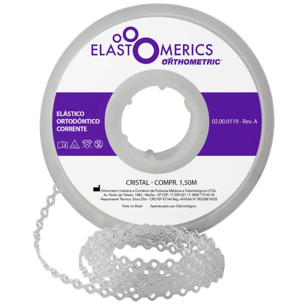 ELASTICO-EM-CORRENTE---MEDIO---COR--CRISTAL---ORTHOMETRIC