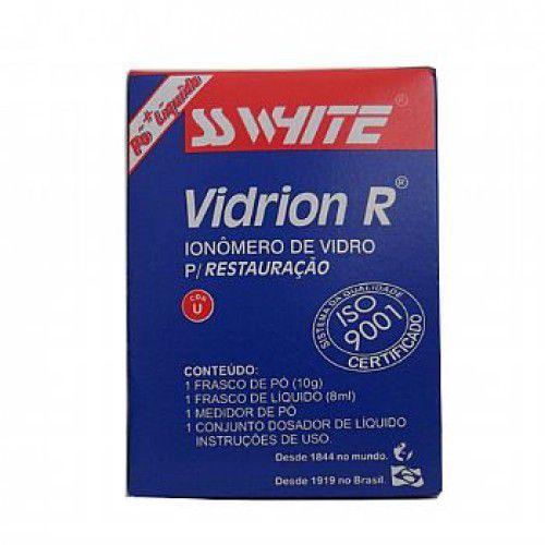 Vidrion-R---Ionomero-De-Vidro-p--Restauracao---Autopolimerizavel