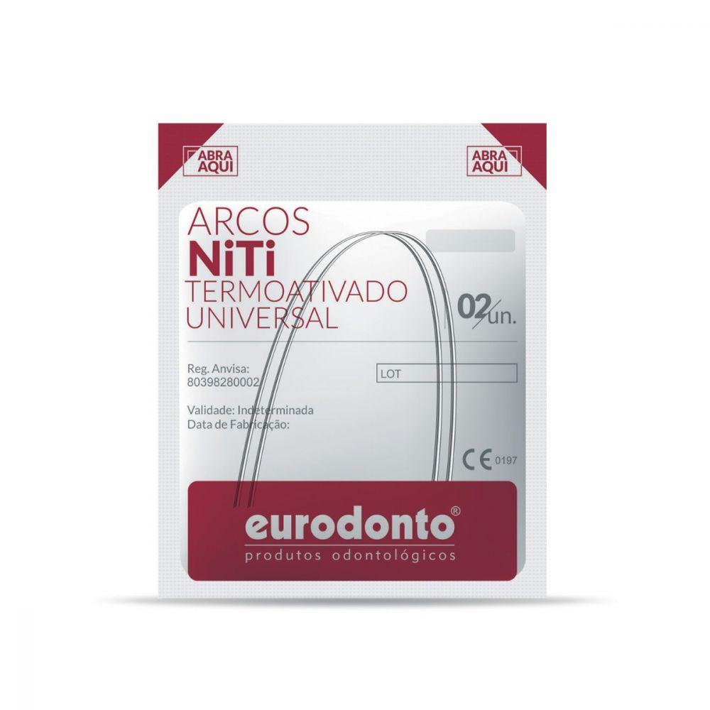 ARCO-NITINOL-SUPERELASTICO-TERMO-ATIVADO---UNIVERSAL---NITI---REDONDO-.013----EURODONTO