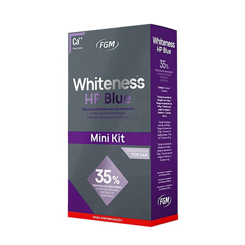 WHITENESS-HP-BLUE-35----MINI-KIT-CLAREADOR-DENTAL-PARA-1-PACIENTE---1--TOPDAM---FGM