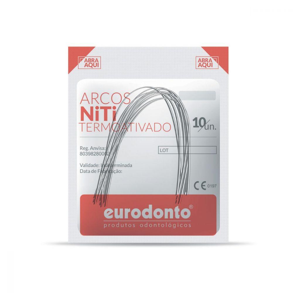 ARCO-NITINOL-SUPEREL-STICO-TERMO-ATIVADO---INFERIOR---NITI---RETANGULAR-.018-X.025----EURODONTO