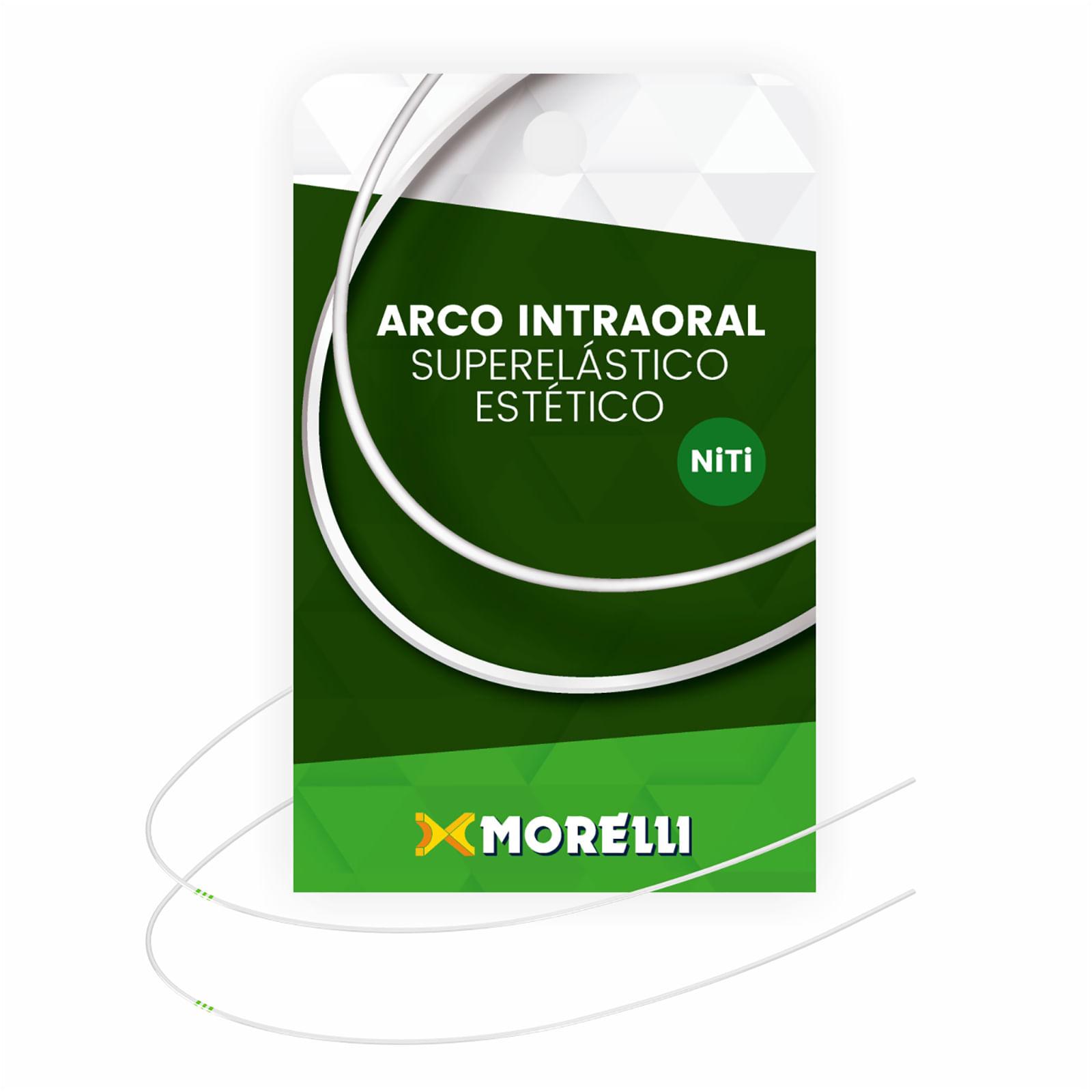 ARCO-ESTETICO-INTRAORAL-SUPERELASTICO-NITI---COLORIDO-BEGE---REDONDO-.016--GRANDE---MORELLI