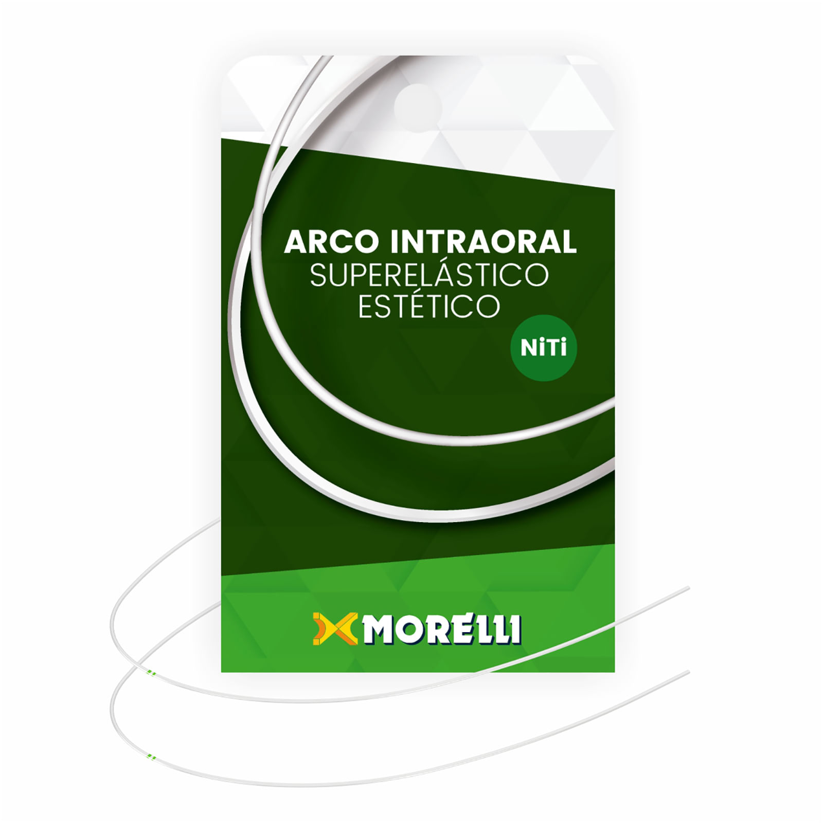 ARCO-ESTETICO-INTRAORAL-SUPERELASTICO-NITI---COLORIDO-BEGE---REDONDO-.018---MEDIO---MORELLI