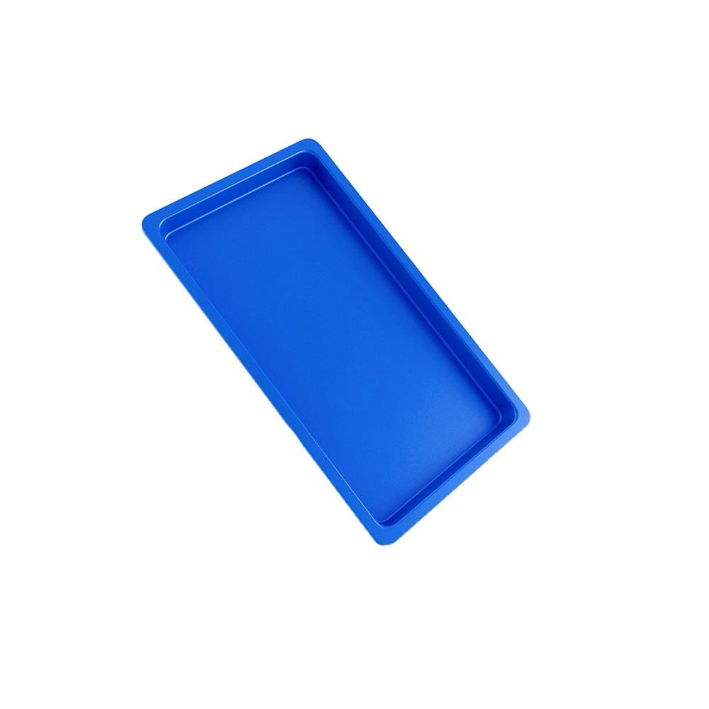 BANDEJA-PLASTICA-ODONTOLOGICA---22X12X1.5---AZUL---MAQUIRA