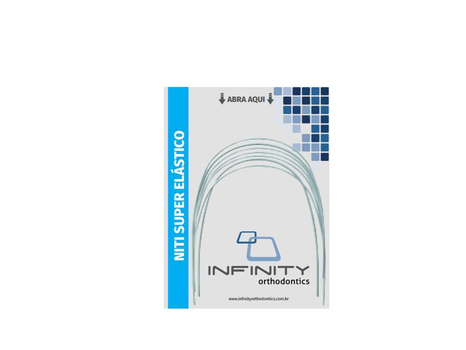 ARCO-INTRAORAL-NITINOL-SUPERELASTICO-SUPERIOR---NITI---RETANGULAR-.019-X.025----MEDIO---INFINITY