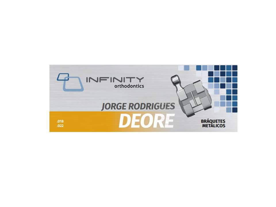 KIT-DE-BRAQUETES-METALICOS-DEORE---PRESCRICAO-JORGE-RODRIGUES-.018--.022----COM-GANCHO-NOS-CANINOS-E-PRES---INFINITY