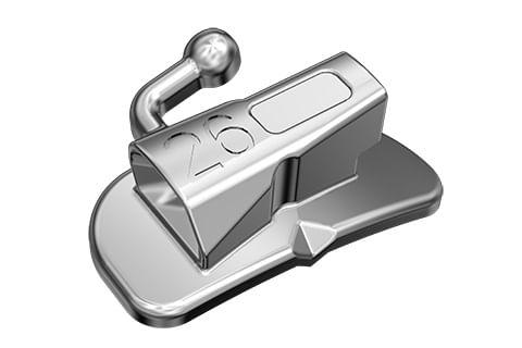 TUBO-ORTODONTICO-PARA-COLAGEM---PRESCRICAO-MBT-.022--SIMPLES-AFUNILADO---DENTE-46---INFINITY