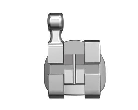 REPOSICAO-BRAQUETE-METALICO-DEORE-STANDARD---PRESCRICAO-ROTH-0.22----DENTES-24-25-COM-GANCHO---INFINITY