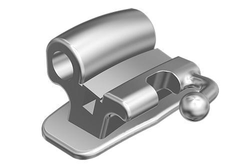 TUBO-ORTODONTICO-PARA-COLAGEM---PRESCRICAO-MBT-.022--DUPLO-CONVERSIVEL-COM-ENTRADA-.045----DENTE-46---INFINITY