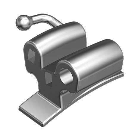 TUBO-ORTODONTICO-PARA-SOLDAGEM---PRESCRICAO-ROTH-.022--TRIPLO-CONVERSIVEL---DENTE-26---INFINITY