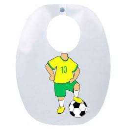 BABADOR-INFANTIL---JOGADOR-BRASIL---FUNWORK