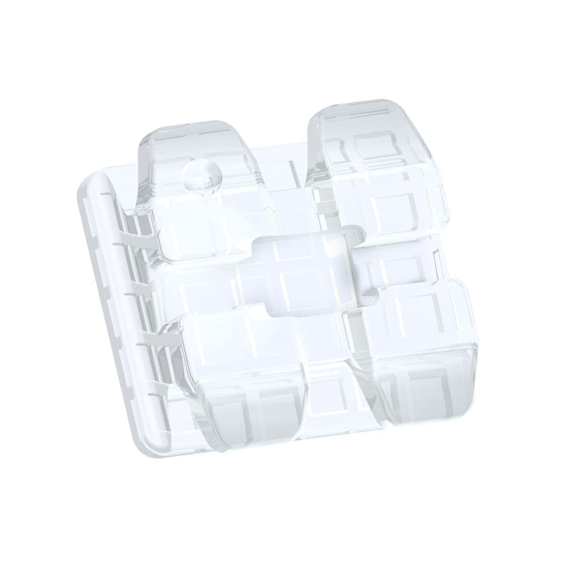 REPOSICAO-DE-BRAQUETES-ESTETICOS-ICE-CLEAR---CERAMICO---PRESCRICAO-ROTH-.022----DENTES-14-15---COM-GANCHO---ORTHOMETRIC