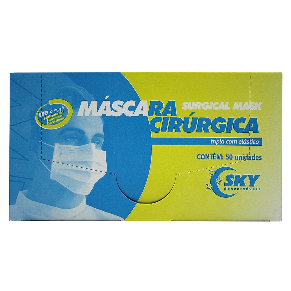 MASCARA-DESCARTAVEL-COM-ELASTICO-BRANCA---SKY
