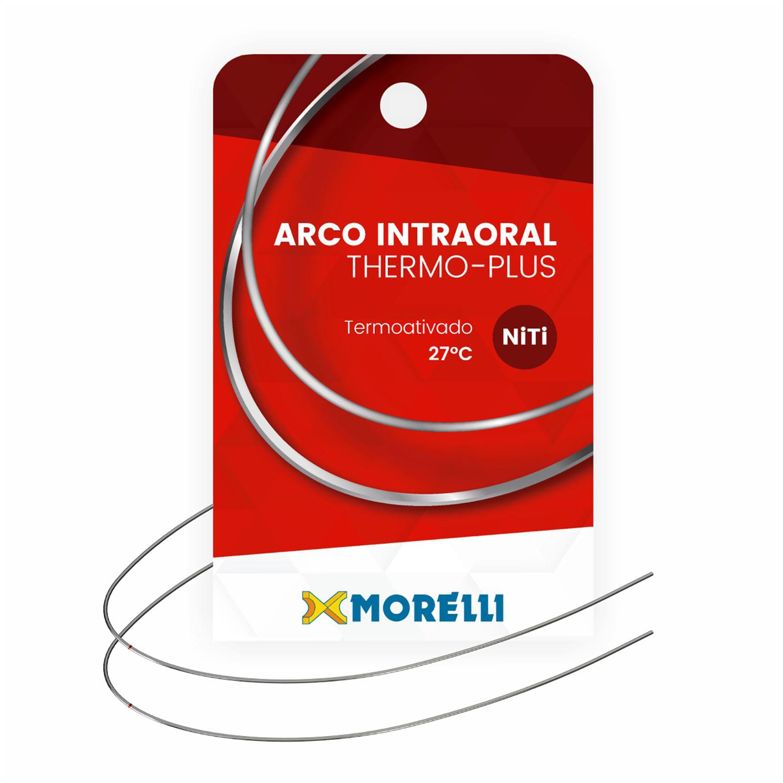 ARCO-NITINOL-ORTODONTICO-INTRAORAL-THERMO-PLUS-INFERIOR-P---NITI---REDONDO-Ø0.30MM-.012-----MORELLI