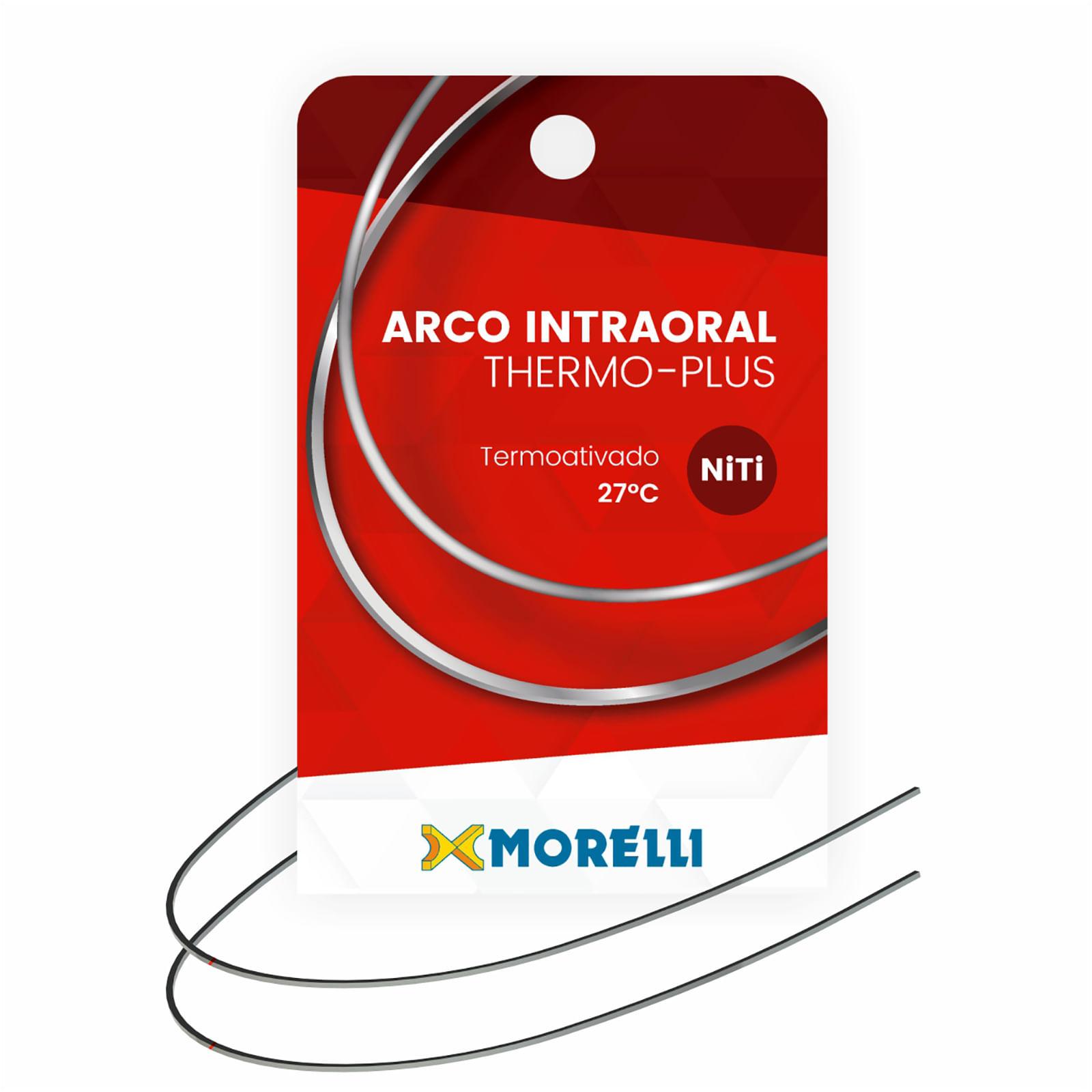 ARCO-NITINOL-ORTODONTICO-INTRAORAL-THERMO-PLUS-INFERIOR-P---NITI---RETANGULAR-0.53X0.63MM--.021-X.025-----MORELLI