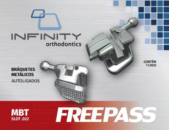 KIT-DE-BRAQUETES-METALICOS-FREEPASS-AUTOLIGADO---PRESCRICAO-MBT-.022--COM-GANCHO-NOS-CANINOS-E-PRES---INFINITY
